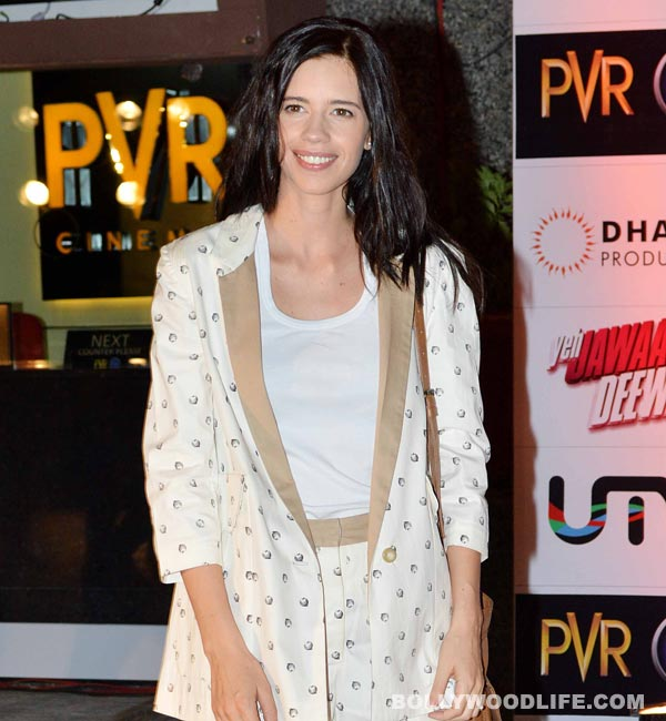 Why did Kalki Koechlin apologise to designers Riddhi Siddhi?