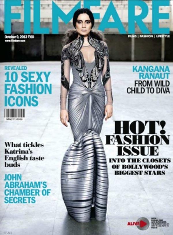 Kangna Ranaut: Sexy or sad in a metallic mermaid gown?