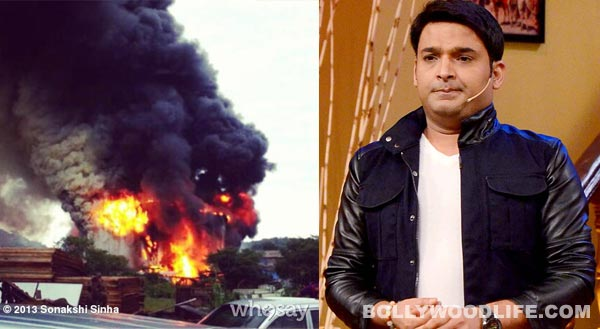 Comedy Nights With Kapil: Fire breaks out on the sets! Watch video!