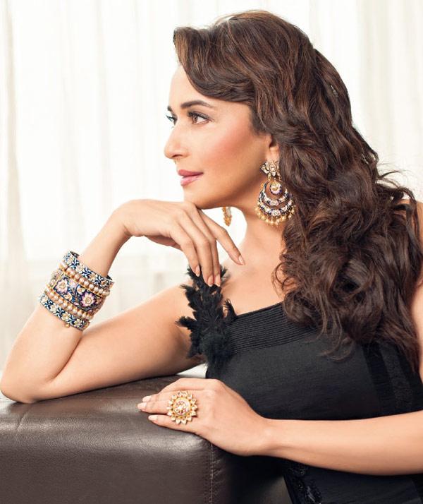 Madhuri Dixit-Nene personifies elegance in Hi! Blitz photoshoot!
