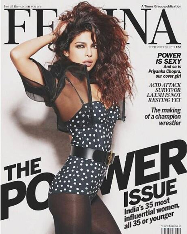 Priyanka Chopra cover shoot: Too hot to handle!