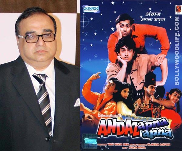 Is Rajkumar Santoshi not interested in Andaz Apna Apna sequel?