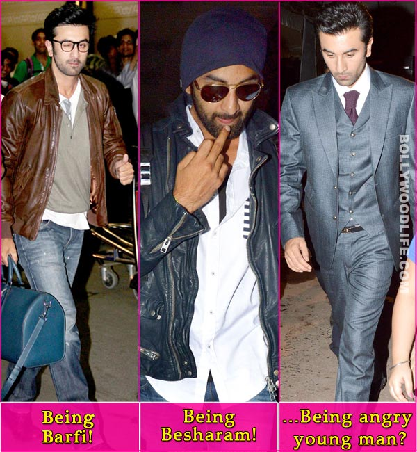 Why is Ranbir Kapoor upset with the paparazzi?