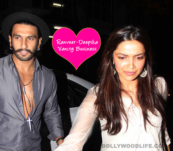 What was Ranveer Singh doing in Deepika Padukone's vanity van?