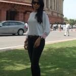 Savita Bhabhi visits Parliament in transparent white shirt – view pics!