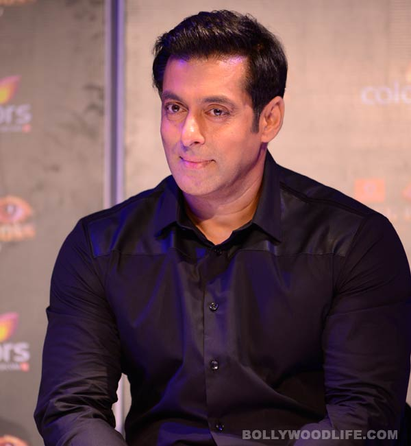 Salman Khan continues to shoot for Bigg Boss 7 in high fever!