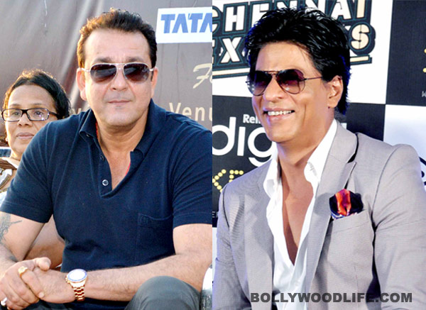 Why did Sanjay Dutt step into Shahrukh Khan's shoes?