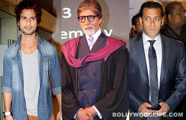 Teachers' Day special: What can Amitabh Bachchan teach Shahid Kapoor and Salman Khan?