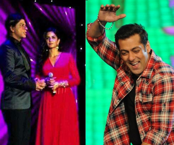 Katrina Kaif's Khan connection – dancing with Shahrukh Khan, bonding with Salman Khan!