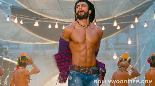 Ramleela song Tattad tattad (Ramji ki chaal): Ranveer Singh copies Salman Khan's shirtless act!