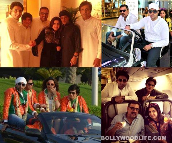 Shahrukh Khan, Deepika Padukone, Abhishek Bachchan and Farah Khan wrap up Happy New Year Dubai schedule: View pics!