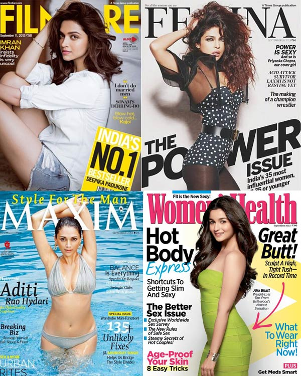 Deepika Padukone, Priyanka Chopra, Aditi Rao Hydari: Who is the most desirable cover girl?