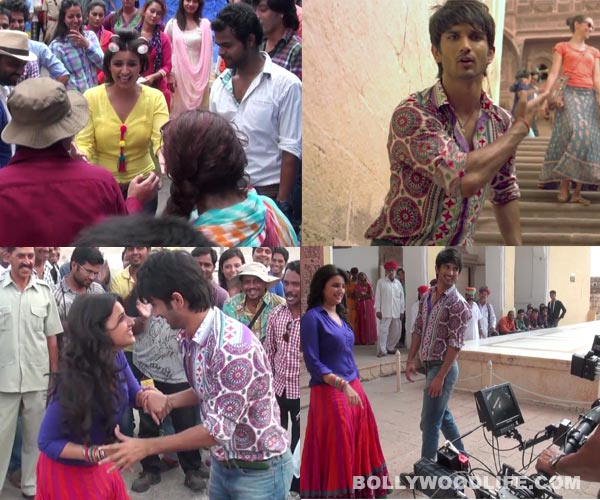 Shuddh Desi Romance title track making: Is Sushant Singh Rajput and Parineeti Chopra's real life chemistry sizzling?