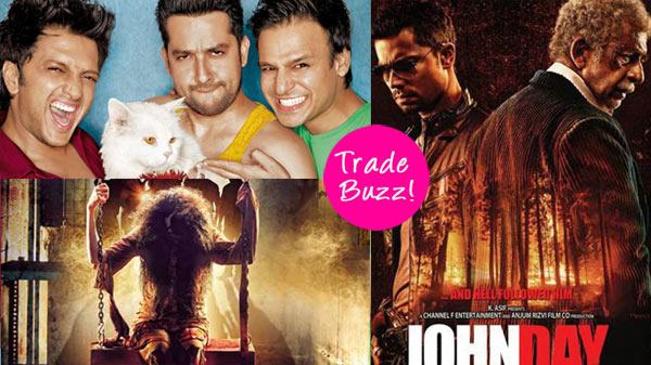 Trade Buzz: Grand Masti, Horror Story, John Day – which movie will you watch this Friday?