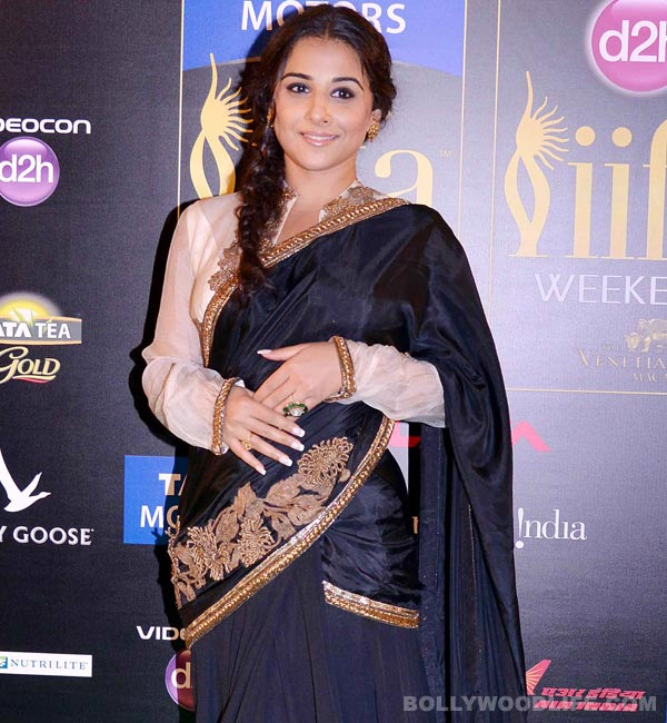 Is Vidya Balan feeling threatened by slimmer actors?