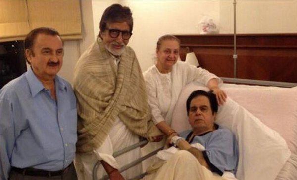Amitabh Bachchan prays for Dilip Kumar's health