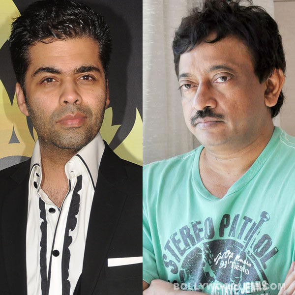 Why does Ram Gopal Varma pick fights with Karan Johar?