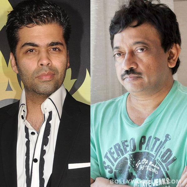 Karan Johar: Ram Gopal Varma is obsessively in love with me!