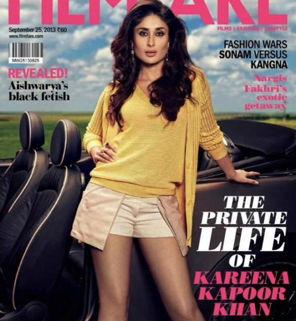 Kareena Kapoor Khan shows off her legs on Filmfare cover: Hot or not?