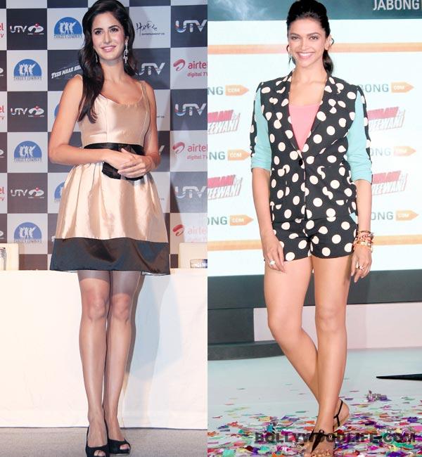 Is Katrina Kaif trying to look like Deepika Padukone?