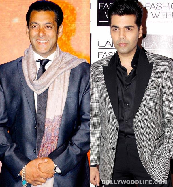 Will Salman Khan finally do Karan Johar's film?