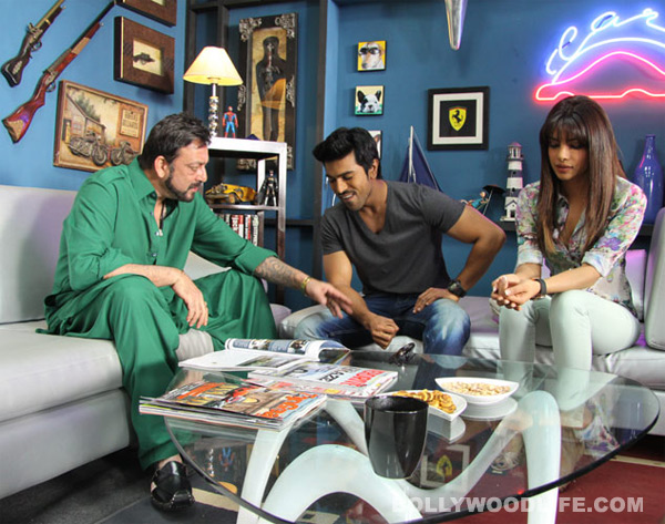 What happened between Priyanka Chopra and Sanjay Dutt?