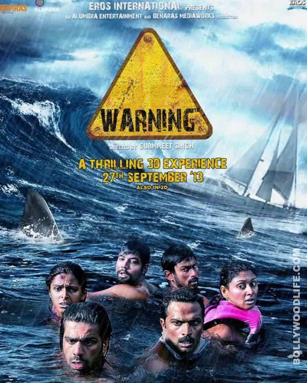 Warning 3D movie review: Stay away from this film!