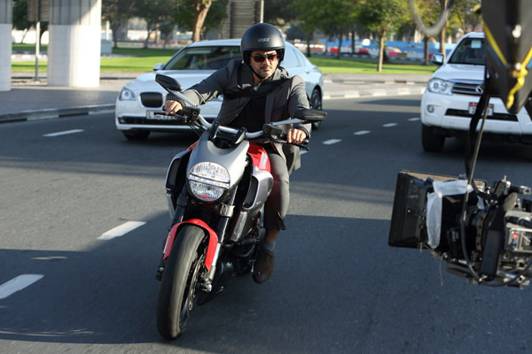 Ajith rides from Pune to Chennai in a day