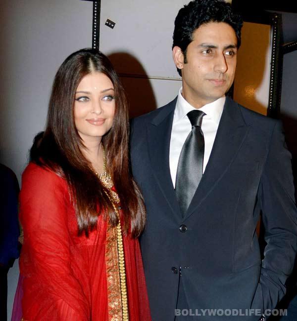 Skype brings Aishwarya Rai Bachchan and Abhishek Bachchan closer on Karva Chauth!