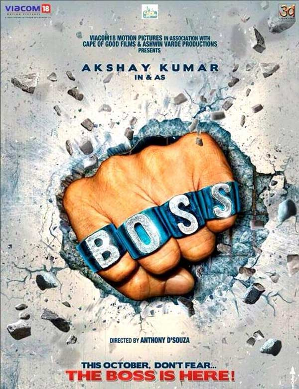 Box office: Boss makes Rs 45.5 crore, Shahid Rs 2.05 crore in India