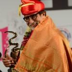 Amitabh Bachchan honoured with Hridaynath Mangeshkar Award