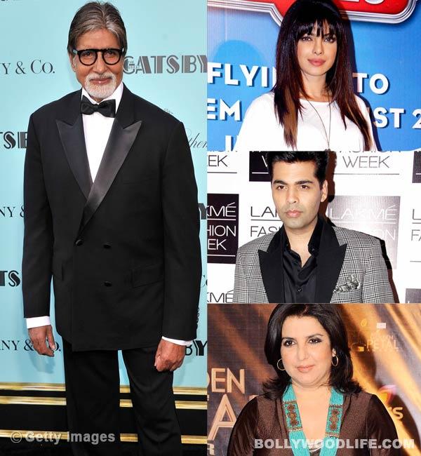Priyanka Chopra, Karan Johar, Farah Khan wish Amitabh Bachchan on his birthday!