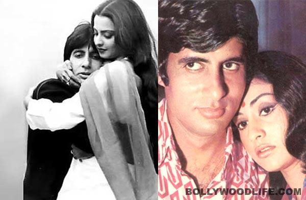 Amitabh Bachchan birthday special: Who looks best with Big B – Rekha, Jaya Bhaduri, Rakhee, Tabu or Jiah Khan?