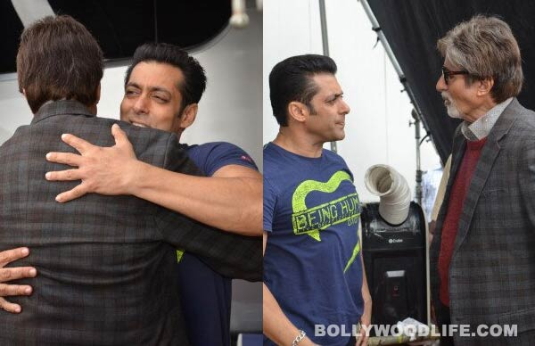 Was Salman Khan uncomfortable meeting Amitabh Bachchan?