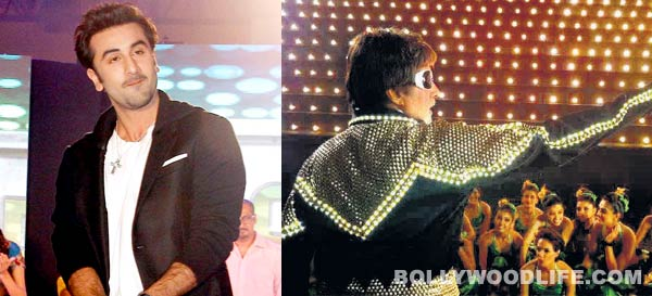 Has Ranbir Kapoor copied Amitabh Bachchan? Watch video!