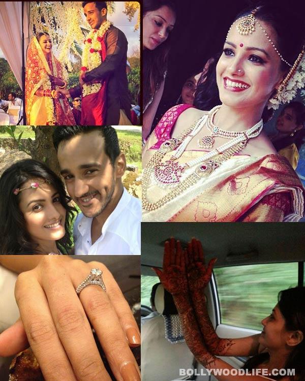 Anita Hassanandani extravagant south Indian wedding – View pics!