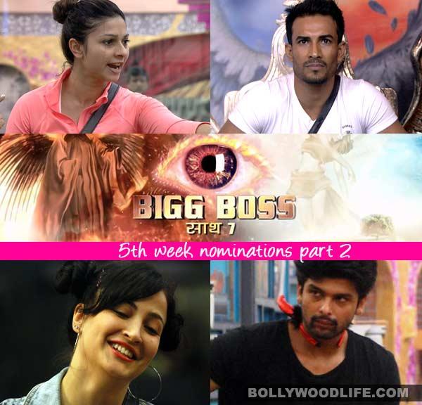 Bigg Boss 7: Kushal Tandon, Tanishaa Mukherji, Elli Avram and Asif Azim nominated
