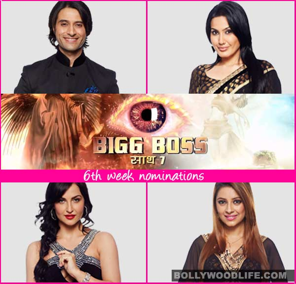 Bigg Boss 7 nominations: Pratyusha Banerjee, Kamya Punjabi, Elli Avram and Apurva Agnihotri nominated