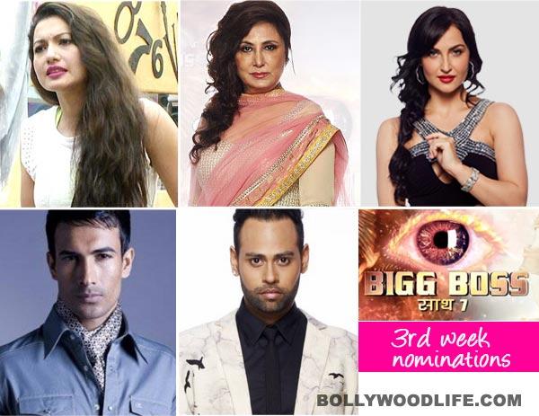 Bigg Boss 7: Gauhar Khan, Anita Advani, VJ Andy, Asif Azim, Elli Avram - Who will be eliminated this week?