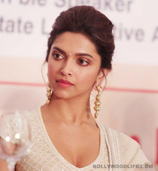 Did Deepika Padukone get hit by eggs and tomatoes?