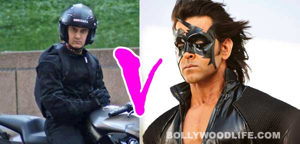 Will Aamir Khan's Dhoom:3 beat Hrithik Roshan's Krrish 3 in marketing?