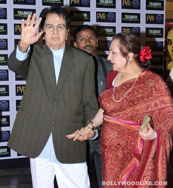 Dilip Kumar thanks his fans for anniversary wishes!