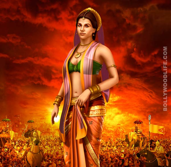 Mahabharat first look: Vidya Balan's animated Draupadi look seems mediocre!