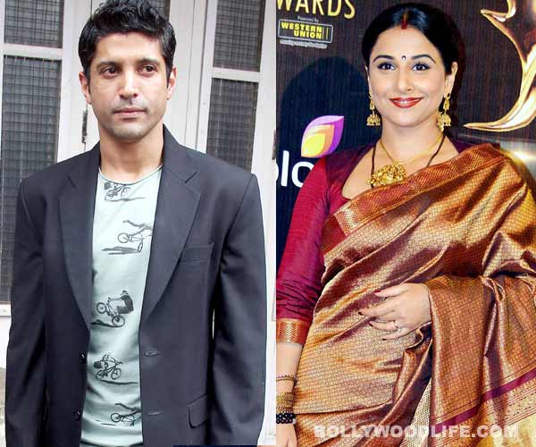 Farhan Akhtar: Working with Vidya Balan, wonderful experience
