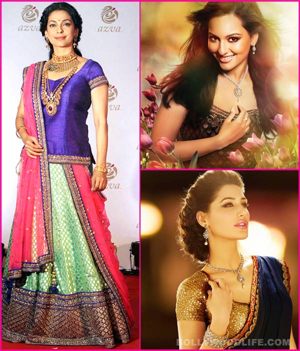 Nargis Fakhri, Sonakshi Sinha or Juhi Chawla: Whose jewellery will you buy this Dhanteras?