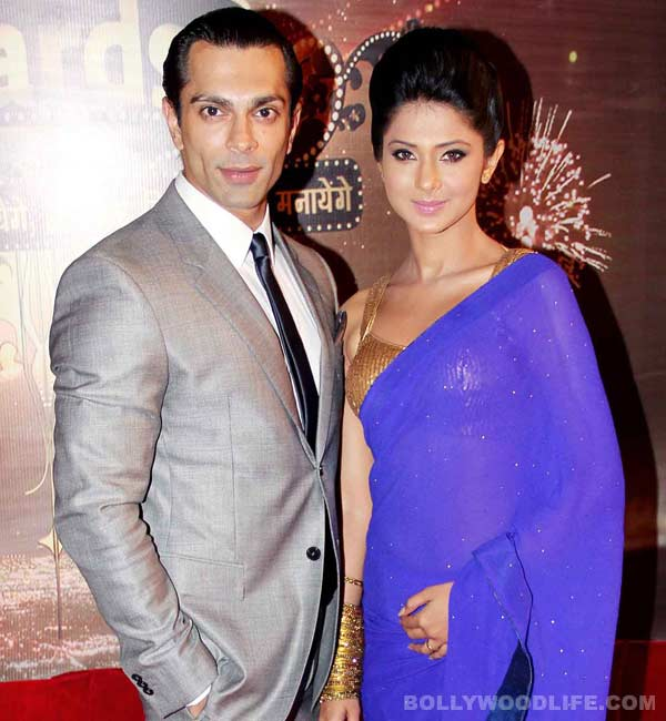 Karan Singh Grover and Jennifer Winget bag trophies at the Indian Television Academy Awards