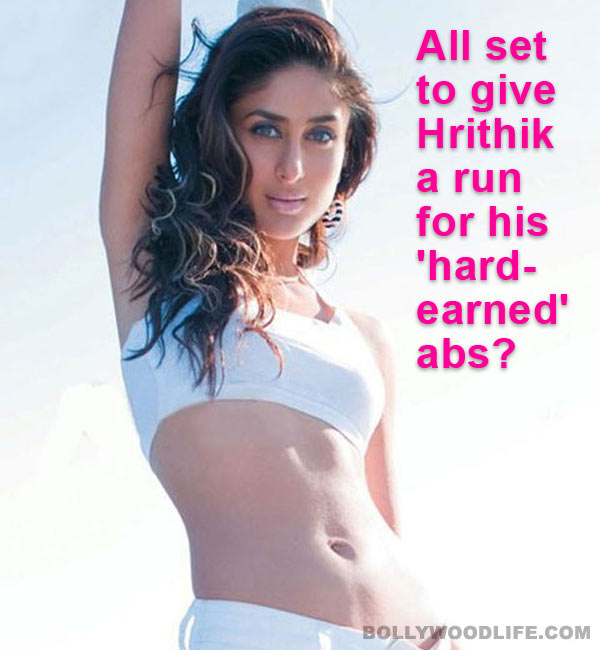 Will Kareena Kapoor look sexy in her six-pack avatar?