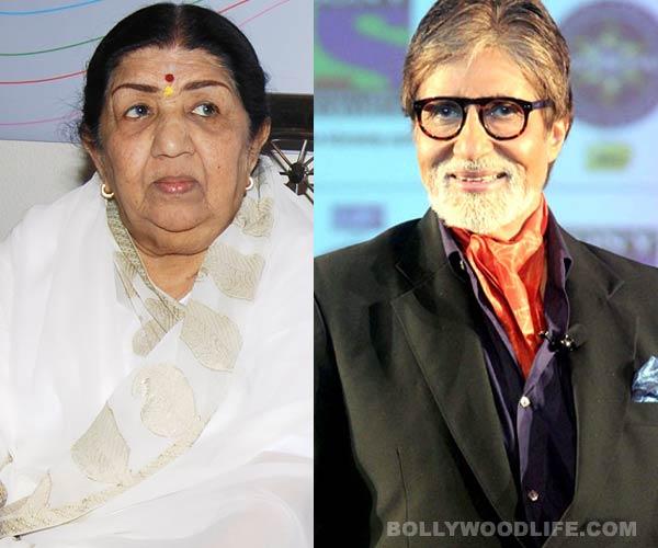 Why did Lata Mangeshkar apologise to Amitabh Bachchan?