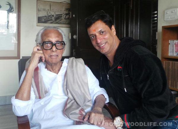 Madhur Bhandarkar gets to meet his all time favourite director Mrinal Sen