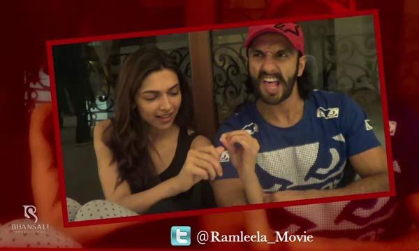 Ram-Leela song Ishqyaun dhishqyaun making: Why does Deepika Padukone scream bachao?